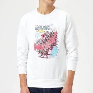 DC Ho Ho Whoaaaaaaa Christmas Sweater - White