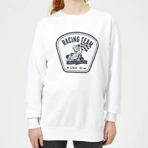 Nintendo Mario Kart Racing Team Women's Sweatshirt - White