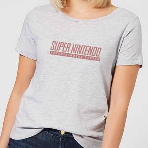 Nintendo Super Nintendo SNES Men's Women's T-Shirt - Grey