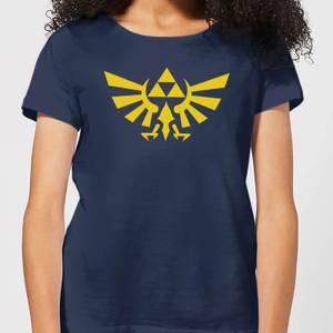 Nintendo Legend Of Zelda Hyrule Women's T-Shirt - Navy