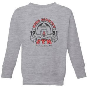 Nintendo Donkey Kong Gym Kids' Sweatshirt - Grey