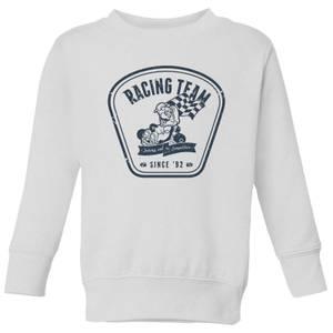 Nintendo Mario Kart Racing Team Kid's Sweatshirt - White