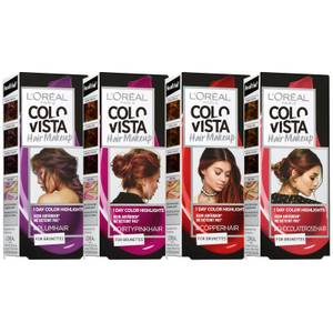 L'Oréal Paris ColorVista Hair Make-up (dirtypink, Plum, Copper, Chocolate Rose)