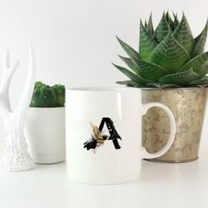 Wabi-Sabi Alphabet Mugs