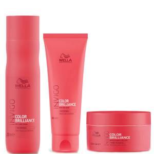 Wella INVIGO Color Brilliance Trio for Fine Hair
