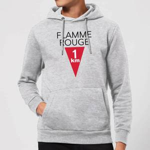 Summit Finish Flamme Rouge Hoodie - Grey