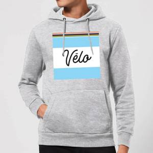 Summit Finish Velo Hoodie - Grey