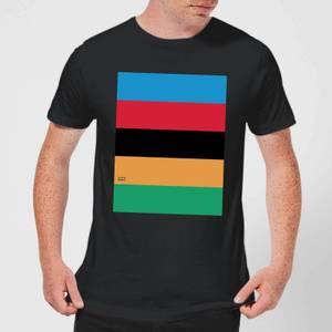 Summit Finish World Champion Stripes Men's T-Shirt - Black