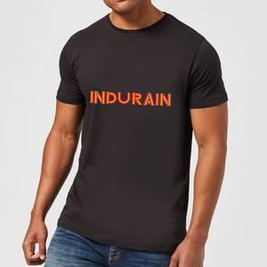 Summit Finish Indurain - Rider Name Men's T-Shirt - Black