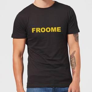 Summit Finish Froome - Rider Name Men's T-Shirt - Black