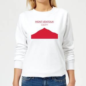 Summit Finish Mont Ventoux Women's Sweatshirt - White