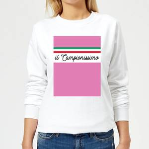 Summit Finish Il Campionissimo Women's Sweatshirt - White