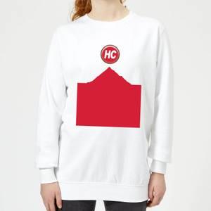 Summit Finish Hors Categorie Women's Sweatshirt - White