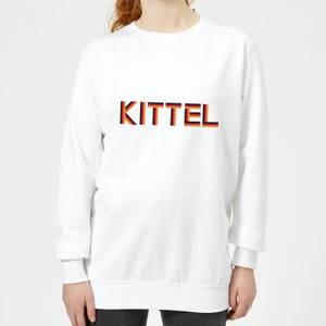 Summit Finish Kittel - Rider Name Women's Sweatshirt - White