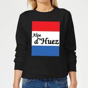 Summit Finish Alpe D'Huez Women's Sweatshirt - Black