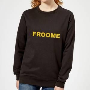 Summit Finish Froome - Rider Name Women's Sweatshirt - Black