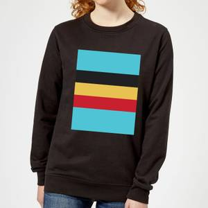 Summit Finish Belgium Flag Women's Sweatshirt - Black