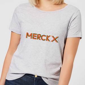 Summit Finish Merckx - Rider Name Women's T-Shirt - Grey