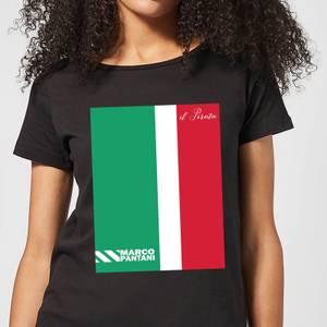 Summit Finish Pantani Il Pirata Women's T-Shirt - Black
