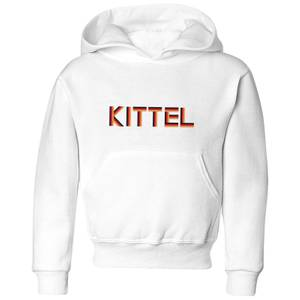 Summit Finish Kittel - Rider Name Kids' Hoodie - White