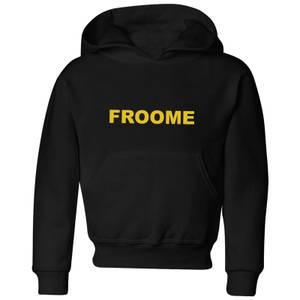 Summit Finish Froome - Rider Name Kids' Hoodie - Black