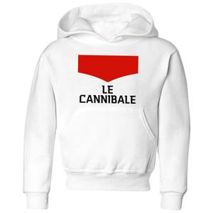 Summit Finish Le Cannibale Kids' Hoodie - White