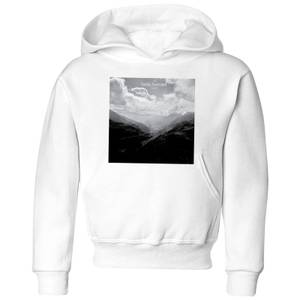 Summit Finish Col du Tourmalet Scenery Kids' Hoodie - White