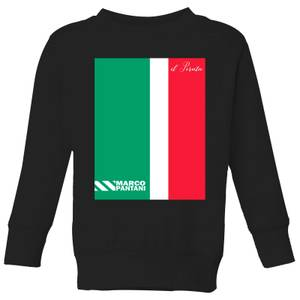 Summit Finish Pantani Il Pirata Kids' Sweatshirt - Black
