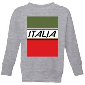 Summit Finish Italia Kids' Sweatshirt - Grey