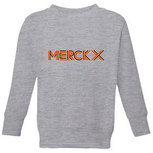 Summit Finish Merckx - Rider Name Kids' Sweatshirt - Grey
