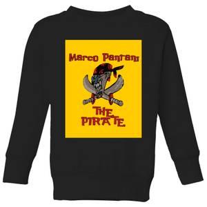 Summit Finish Pantani The Pirate Kids' Sweatshirt - Black