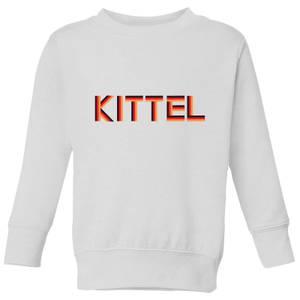 Summit Finish Kittel - Rider Name Kids' Sweatshirt - White