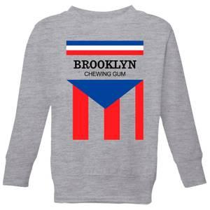 Summit Finish Brooklyn Chewing Gum Kids' Sweatshirt - Grey