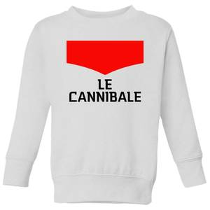 Summit Finish Le Cannibale Kids' Sweatshirt - White