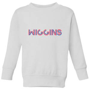 Summit Finish Wiggins - Rider Name Kids' Sweatshirt - White