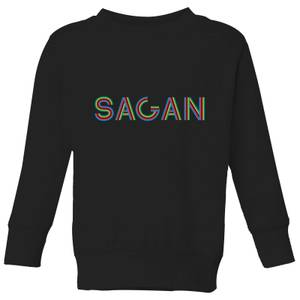 Summit Finish Sagan - Rider Name Kids' Sweatshirt - Black