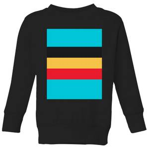 Summit Finish Belgium Flag Kids' Sweatshirt - Black
