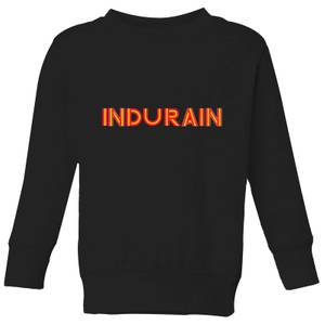 Summit Finish Indurain - Rider Name Kids' Sweatshirt - Black