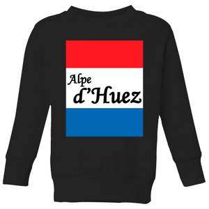Summit Finish Alpe D'Huez Kids' Sweatshirt - Black