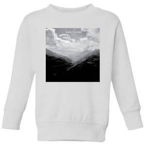 Summit Finish Col du Tourmalet Scenery Kids' Sweatshirt - White