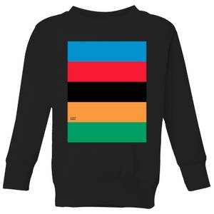Summit Finish World Champion Stripes Kids' Sweatshirt - Black