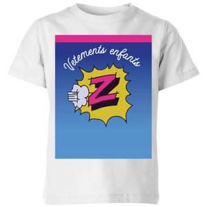 Summit Finish Z Vetements Kids' T-Shirt - White