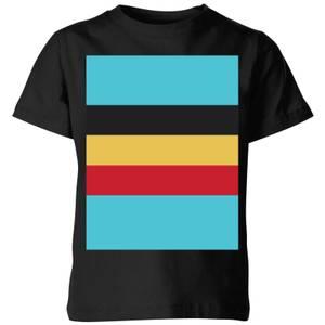 Summit Finish Belgium Flag Kids' T-Shirt - Black
