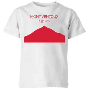Summit Finish Mont Ventoux Kids' T-Shirt - White