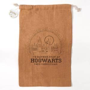 Harry Potter Officially Licensed Hogwarts Christmas Sack