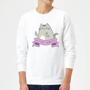 Go Fluff Yourself! Sweatshirt - White