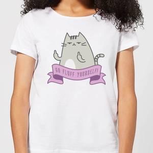 Go Fluff Yourself! Women's T-Shirt - White
