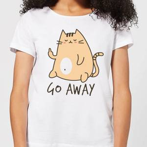 Go Away Women's T-Shirt - White
