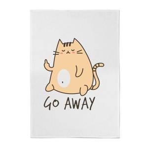 Go Away Cotton Tea Towel