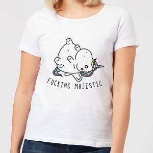 F***ing Majestic Women's T-Shirt - White
